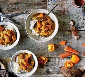 Cocoyam Sweet Potato Curry
