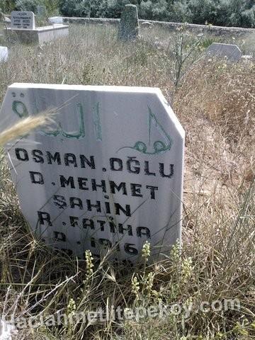osman oglu mehmet sahin