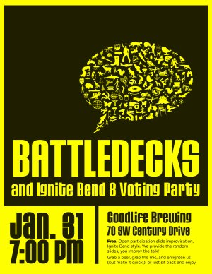 Battledecks and Ignite Bend 8 voting party