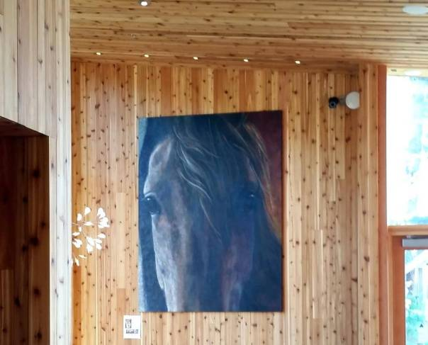 Black Butte Ranch Lakeside Bistro painting