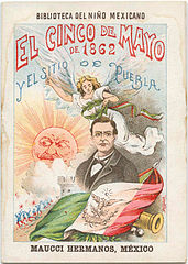 Cinco de Mayo 1901 poster