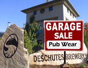 Deschutes Brewery annual garage sale