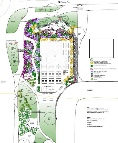 Franklin's Corner Community Garden plan