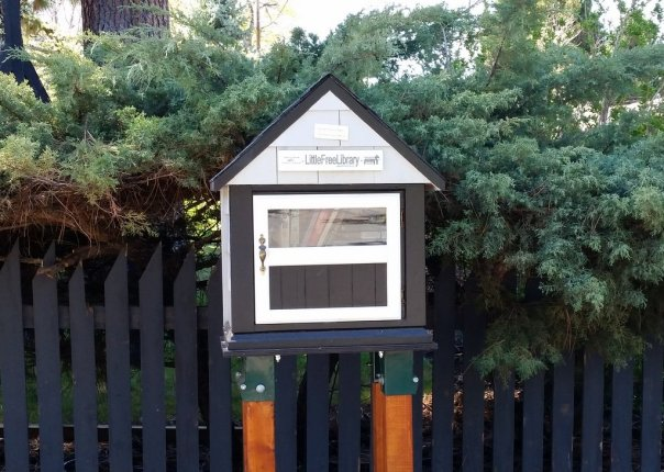 Little Free Library in Old Town Bend