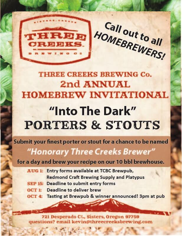 Three Creeks 2nd Annual Homebrew Invitational