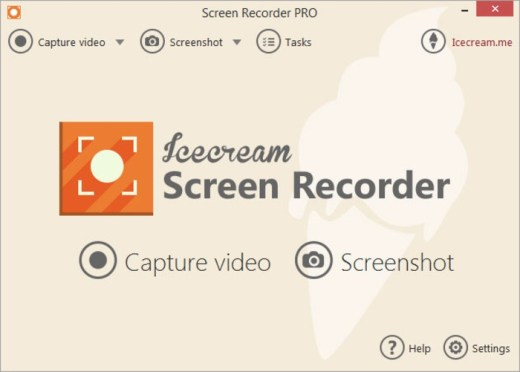 Icescream screen recorder
