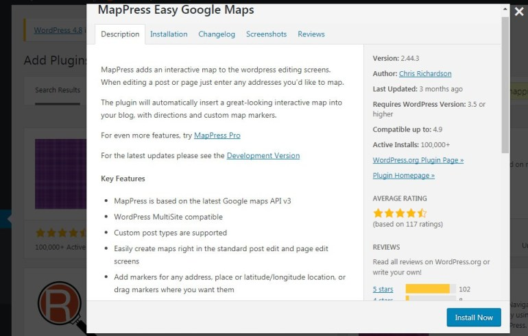 add google map to wordpress