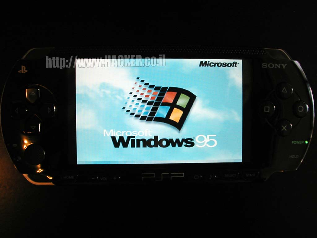 Windows and Linux on the Sony PSP