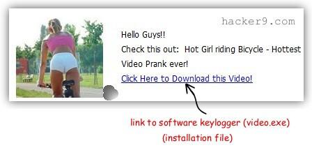 Hot Girl Video Keylogger video.exe