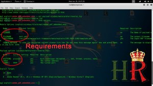 Hack windows Remotely Using PDF requirements