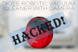 Robotic Vacuum Cleaner Hacked