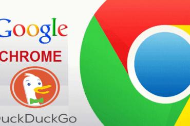 Google Chrome And DuckDuckGo