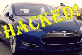 Tesla Car Hacked