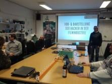 Vortrag über Vor- und Darstellung von Hackern in Filmen