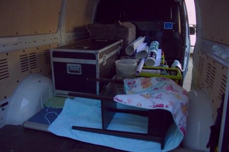 Im Transporter