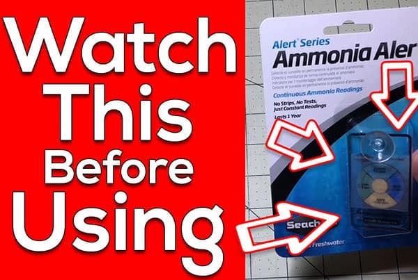 Seachem Ammonia Alert Facts – Ammonia Testing Made Easy