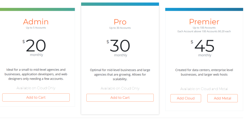 cPanel New Prices Licensing and Pricing Structure - thoughts?