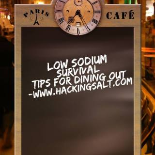 Low Sodium Survival Tips For Dining Out
