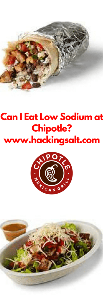 Can I Eat Low Sodium at Chipotle