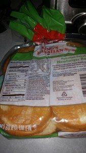 Nutritional Info for Kings Hawaiian Original Hamburger Buns