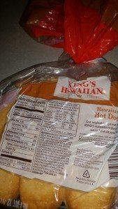 Nutritional Info for Kings Hawaiian Original Hot Dog Buns