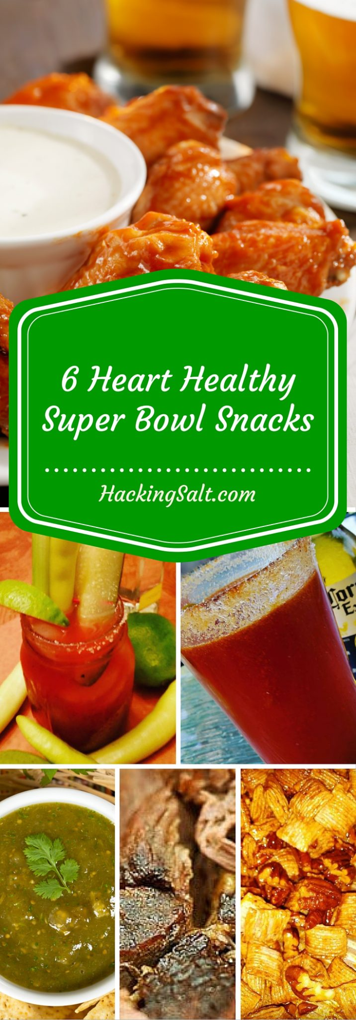 As Featured on Buzzfeed - 6 Heart Healthy Super Bowl Snacks