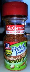 McCormick's Perfect Pinch Salt Free Spices