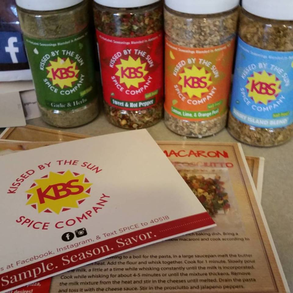 Kissed By The Sun Salt Free Spices