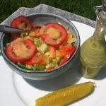 Low Sodium Creamy Dill Pickle Vinaigrette Dressing