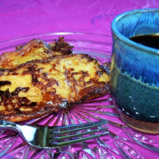 Cuban Coffee with Sweet Toast – Perfect Breakfast