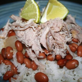 Low Sodium Cuban Pork and Beans