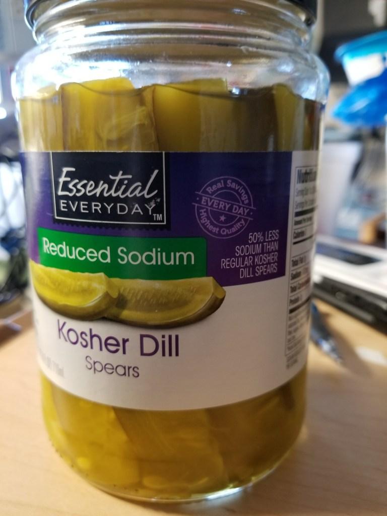 Essential Everyday Reduced Sodium Pickles