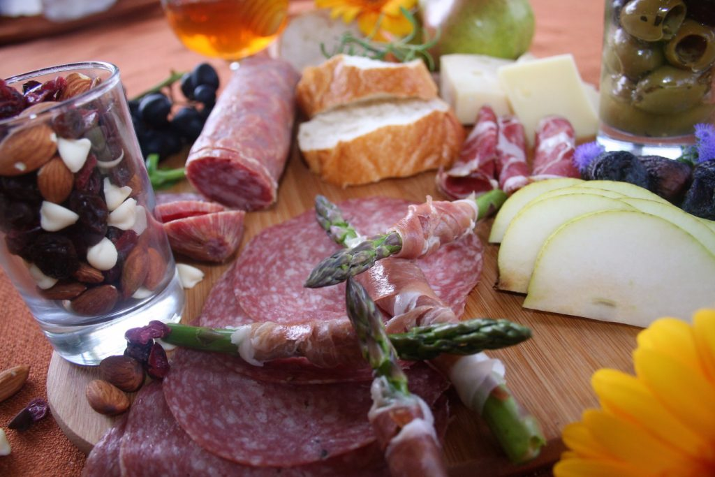 Low Sodium Salami and Charcuterie from Mount Olive