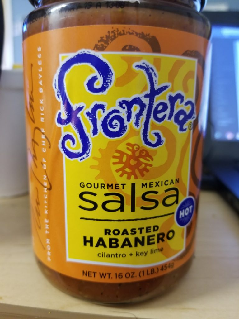 Low Sodium Hot Salsa - Frontera Habanero Cilantro Lime Salsa