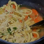 Low Sodium Slow-Cooker Chicken Noodle Soup