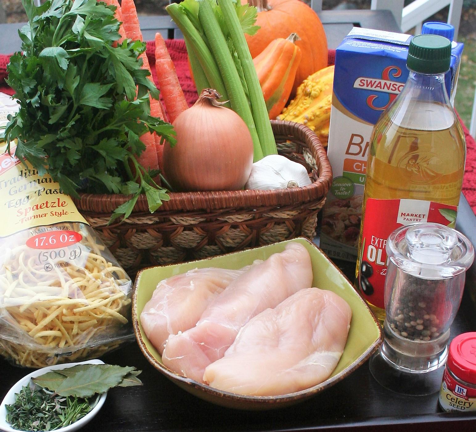 Low Sodium Slow-Cooker Chicken Noodle Soup - Hacking Salt