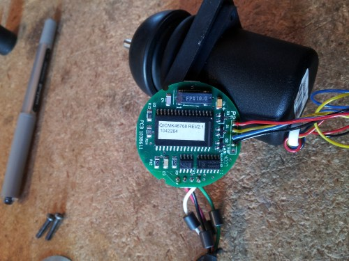 small resolution of powerchair hacking sma wheelchair joystick gimbals wheelchair joystick controller wiring diagram