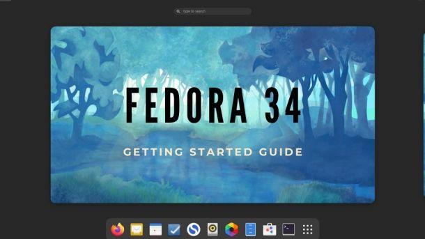 Fedora 34 Guide
