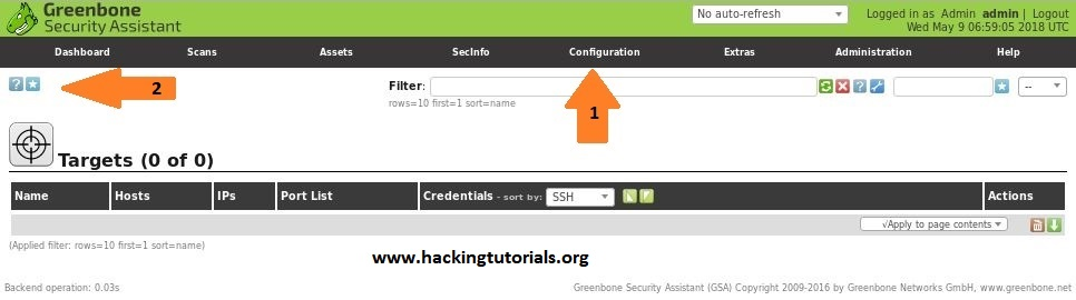 Vulnerability Scanning with OpenVAS 9 part 2: Vulnerability Scanning