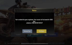 PUBG Mobile hack Account Ban