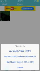 How to Compress a Video on iPhone with Video Compressor-Reduce Size