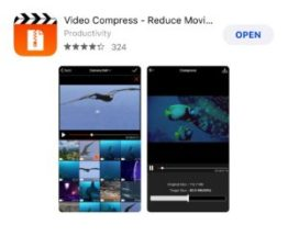 How to Compress a Video on iPhone with Video Compressor-Reduce Movie Size