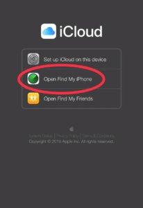 Unlock iPhone 6 Passcode using Find My iPhone