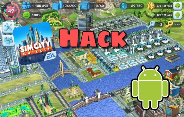 How to hack Simcity Buildit Android without root