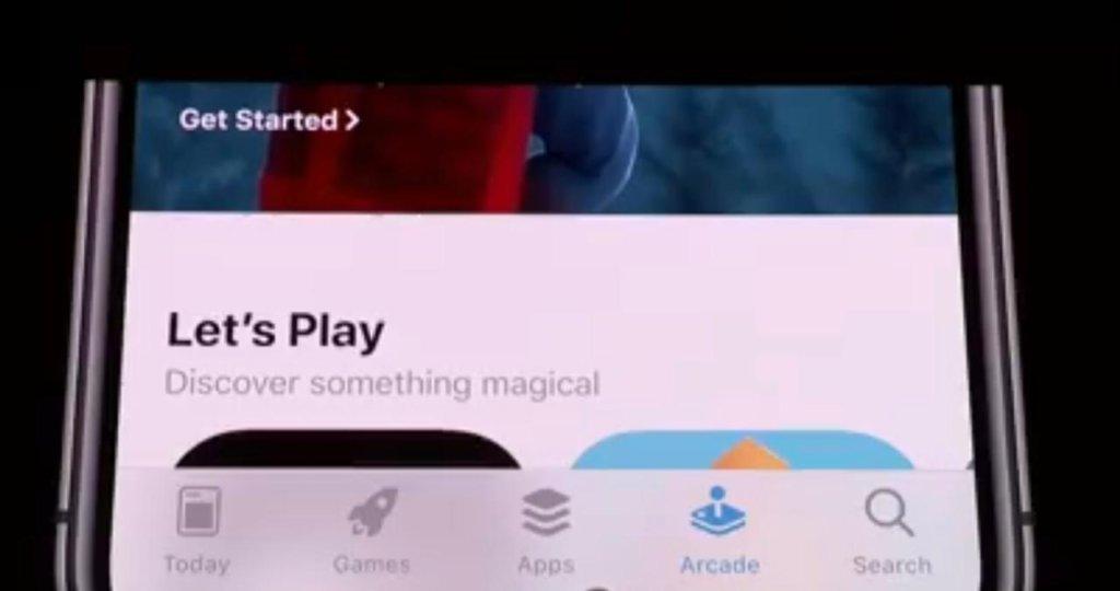 Apple Arcade - a new button in bottom bar