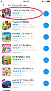 The sims mobile hack ios