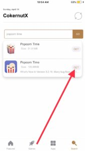 download popcorn time iOS 14