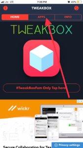 Downloading torngat using Tweakbox