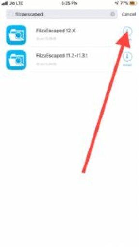 Filzaescaped iOS 12 download