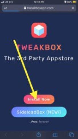 install tweakbox to hack marvel strike force